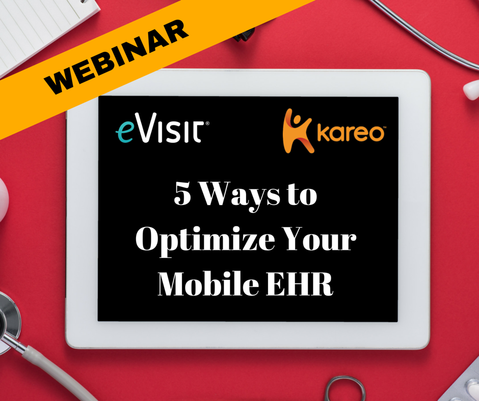 Free webinar: 5 ways to optimize your mobile ehr