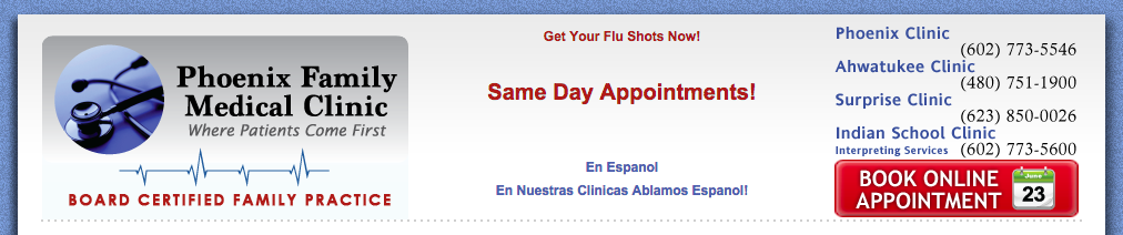 Phoenix Family Medial - Appointment Option