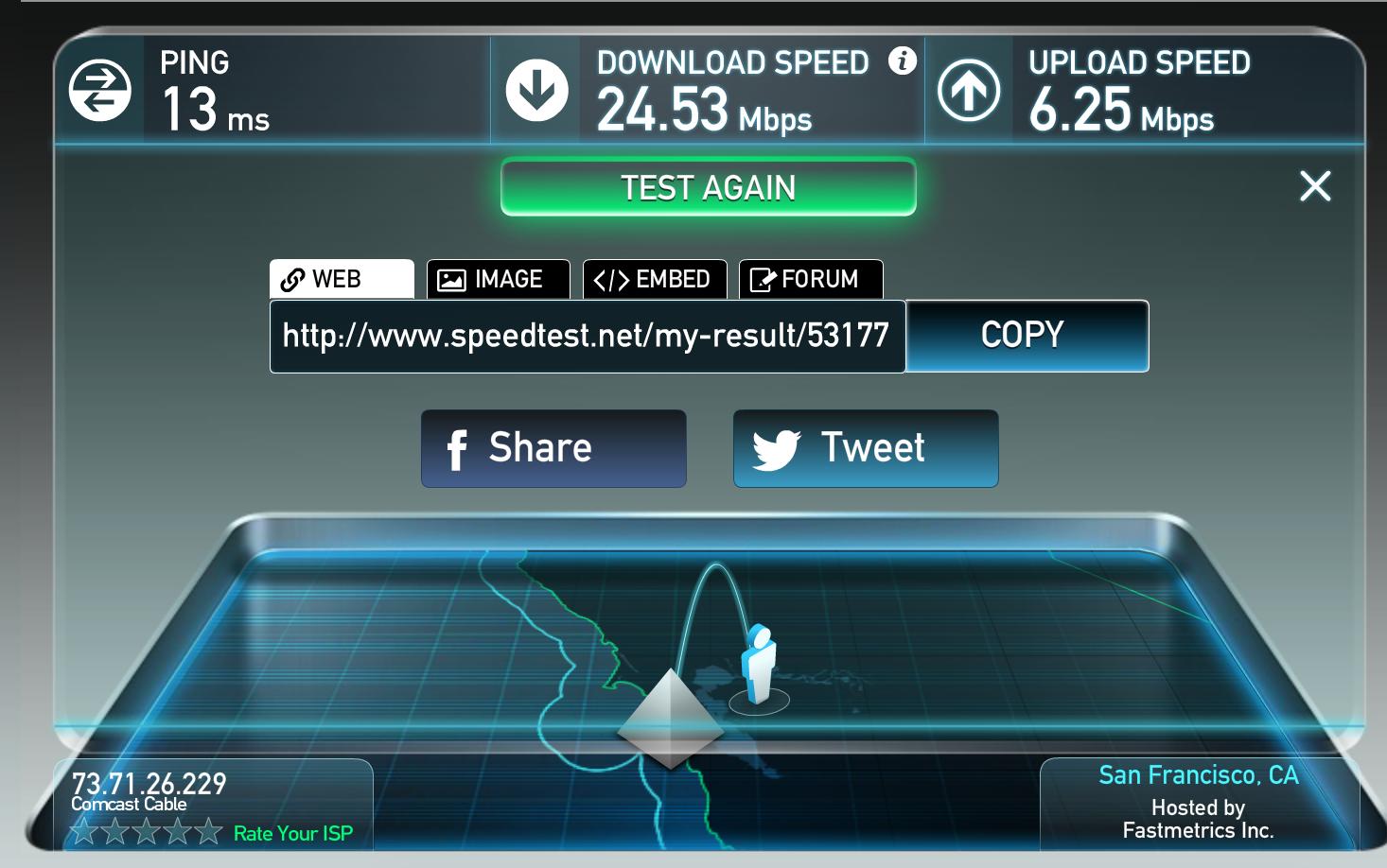 telehealth internet speed test