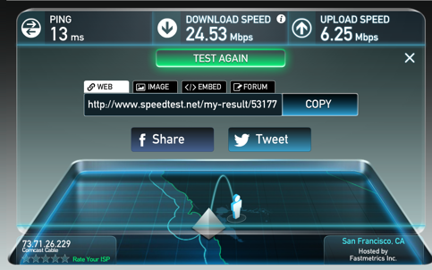 telehealth internet speed test