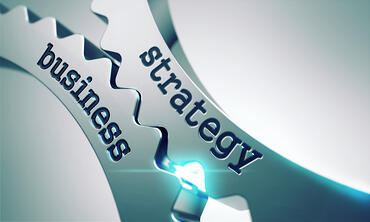 Business Strategy on the Mechanism of Metal Cogwheels.